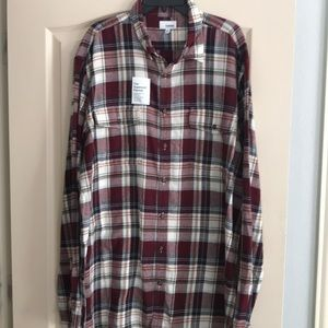 Men's Flannel Shirt 2XLT NWT